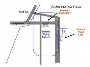 RAMS Flying Area Map