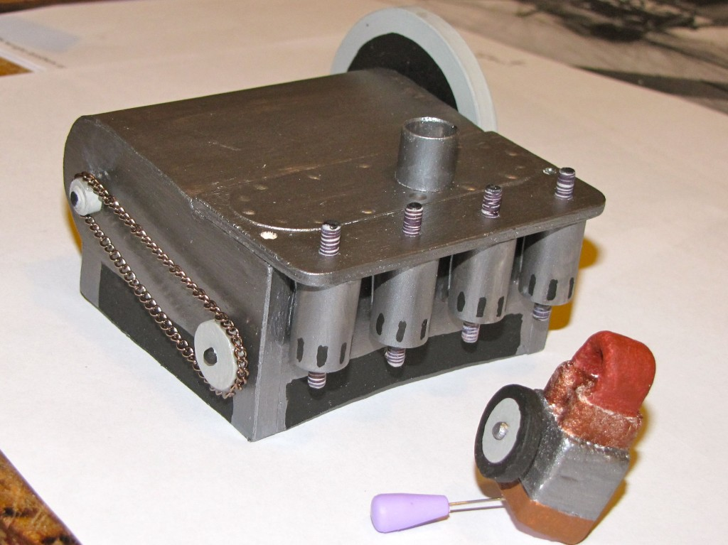 Scale 1905 Wright Engine/Coil