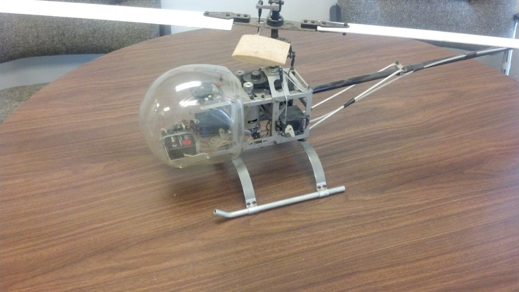 First Electric Heli