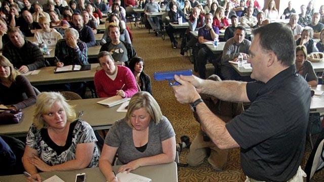 Utah Teachers Gun Training