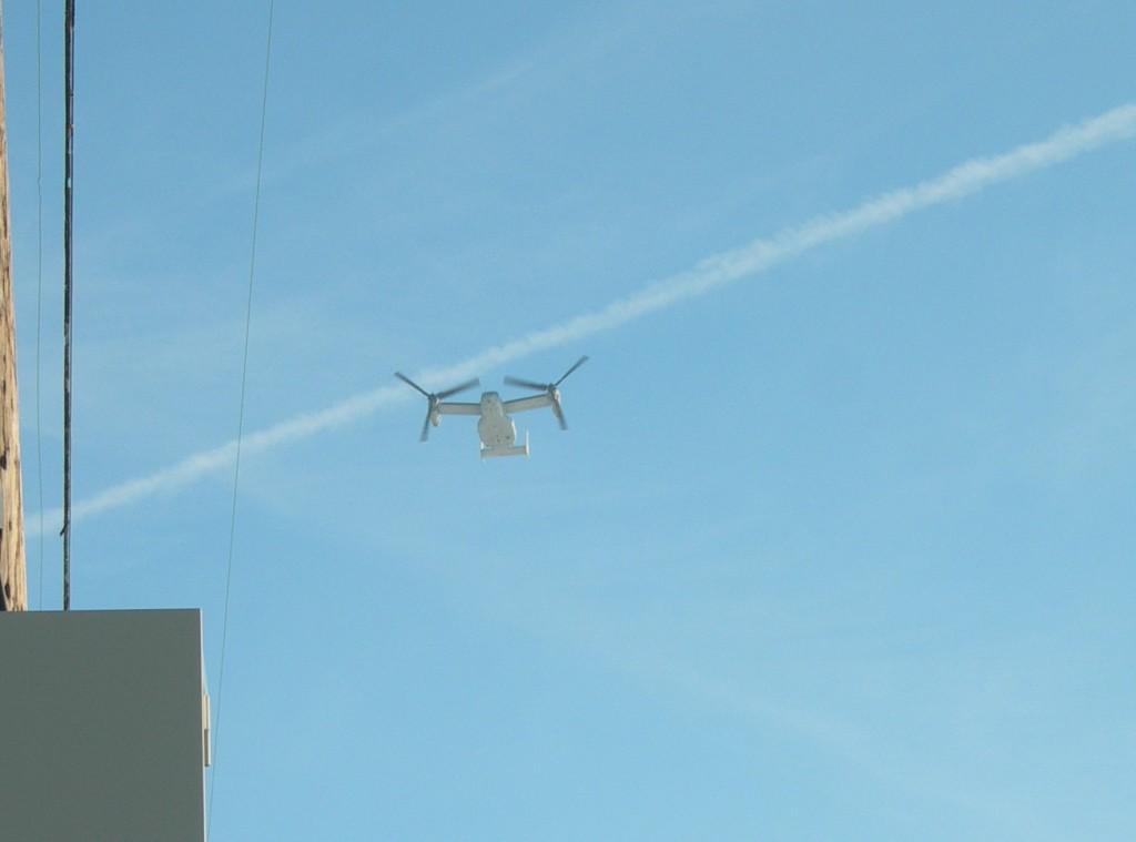CV-22 Osprey over Radical RC