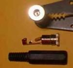 TX Power Jack Plug 2.5mm Female Futaba J - Product Image