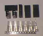 Female Radio Connector Pin Kit Airtronics X(old) - Product Image