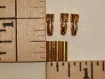 3.5mm Gold Plated Bullet Connector Pin Set, 3-pack - Product Image