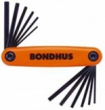Bondhus GorillaGrip Fold Up  Allen Inch & Metric  Set - Product Image