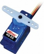 Hitec HS-55 Feather Servo - Product Image