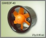 GWS EDF40 Ducted Fan Power System GWS MFG BACKORDER OUT OF STOCK - Product Image