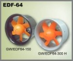 GWS EDF64-300H Electric Ducted Fan Power System  - Product Image