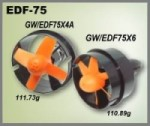 EDF75-400 w/3045 x 4 blade rotor Sorry, out of stock mfg back order no ETA - Product Image