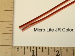 3 Pole JR Colored Servo Micro Lite Wire 30 Gauge - Product Image