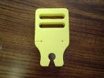 Radical RC Heli Rotor Blade Holder 30, Yellow - Product Image