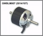 GWS Brushless Outrunner Motor 3014/10T CNC - Product Image
