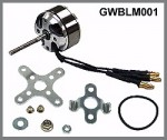 GWS Brushless Outrunner Motor 2205/15T-2160 - Product Image