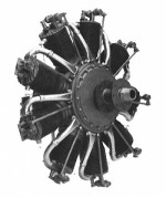 Williams Brothers 1/6 Scale Le Rhone Rotary Engine Kit - Product Image