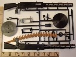 Williams Brothers 1/6 Scale Parabellum German Aircraft Machine Gun - Product Image