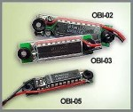 GWS Onboard LED 4-8 Cell Voltage Monitor - Product Image