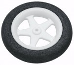 "Du-Bro Micro Sport Wheels 37mm (1.45"") Pair - Product Image"