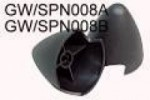 GWS Press on 1.5mm shaft spinner - Product Image