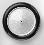 Du-Bro 1/6 Scale 4.66 Inch Vintage Wheels - Product Image