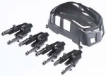 PROTO X BLACK Canopy and Motor Mounts - Product Image