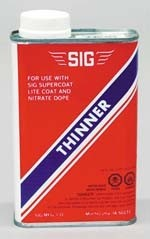 SIG Nitrate Dope Thinner Quart - Product Image