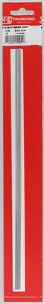 3/32 inch K & S Round Aluminum Tubing 12 Inch 5 PACK - Product Image