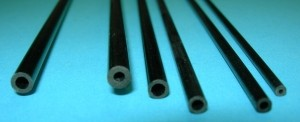 Hollow Carbon Rod Variety of Sizes (Min. qty. 6 rods total; any type rod mix O.K.) - Product Image