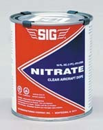 Sig Supercoat Butyrate Dope Clear 1/2 Pint - Product Image