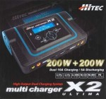 Hitec X2 200 Ultima Dual Port Charger - Product Image