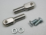 Du-Bro 4-40 Steel Solder on Rod Ends - Product Image