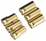 Castle Creations 6.5mm Gold Plated Bullet Connector Pin Set - Product Image