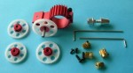 Aluminum #2 Gear Box, Gear Ratio Assortment & Prop Adapter - Product Image