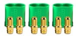 Castle 6.5mm Polarized Bullet Conn Male 3 Pack 200A - Product Image