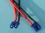 2 Pole/Wire Pigtail Female EC3 - Product Image