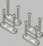 Flat Nylon Gear Straps - Product Image