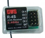 GWS 4 channel 2.4ghz Park RX - Product Image