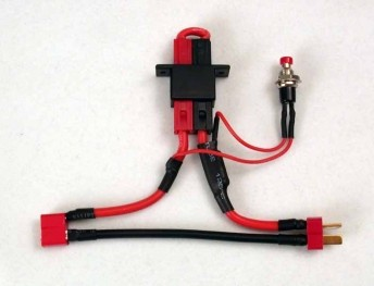 MPI Hi Current No Spark Arming Switch Deans105998 6721 plug mount & arming switch radical rc  at fashall.co
