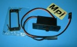 MPI Onboard Switch Harness Heavy Duty 3-LED Voltage Monitor for Futaba connectors - Product Image