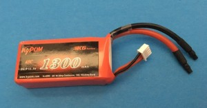 RRC K6 Series 1300 11.1V 3S 65C - Product Image