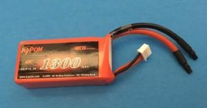 RRC K6 Series 1300 11.1V 3S 65C - Product Image