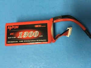 RRC K6 Series 1300 14.8V 4S 65C - Product Image