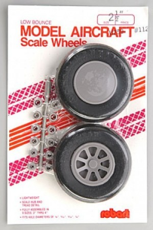 "Robart Scale Wheels 2 1/2"" - Product Image"