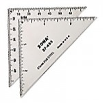 Triangle Ruler Zona - Product Image