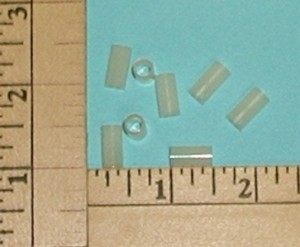 1/2 Inch Nylon Spacer Package of 8 - Product Image