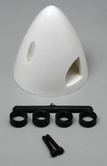 1-3/4 Inch Du-Bro Spinner White - Product Image