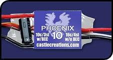 Castle Creations Phoenix-10 Brushless - Product Image