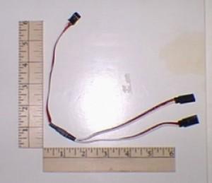 Servo Y Harness Futaba - Product Image
