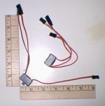 Switch Harness JR/Hitec/Airtronics Z(new) w/Charge Pigtail - Product Image