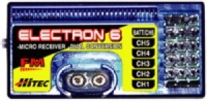 Hitec Electron 6 for JR / Airtronics TX's   ON SALE!  JR/Airtronics Positive Shift Only - Product Image