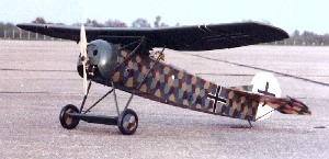 Ben Buckle Vintage Fokker DVIII Kit - Product Image